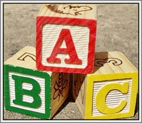 abc blocks for teaching children